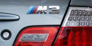 Back of Ian's BMW M3 (detail)